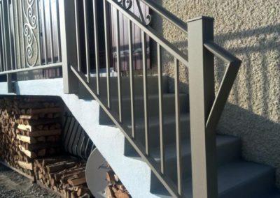 garde corps descente escalier