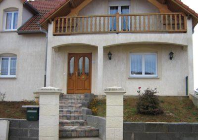 maison porte d entree bois