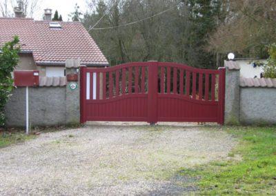 portail ajoure aluminium bordeaux 4