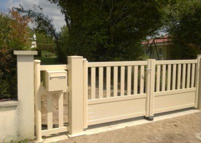 portail ajoure aluminium creme 8