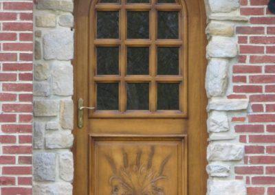 porte d entree bois 26