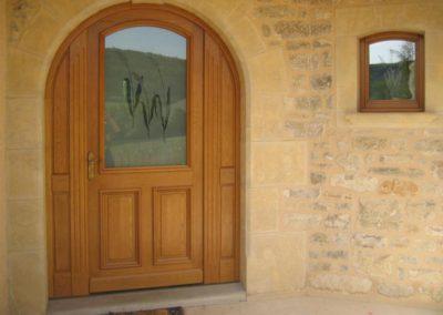 porte d entree bois 29