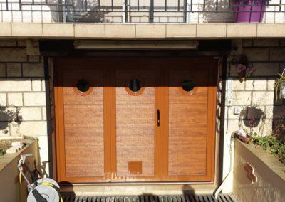 porte de garage battante mixte 2