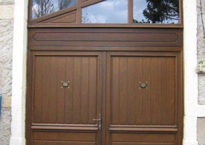 porte de grange bois