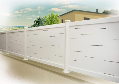 clôture pleine cépage blanc