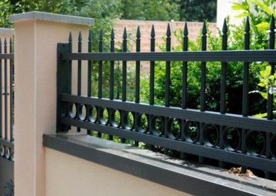 clôture symphonie schubert vert