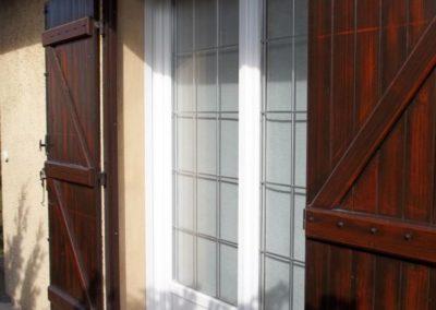 fenêtre PVC croisillons alu 2