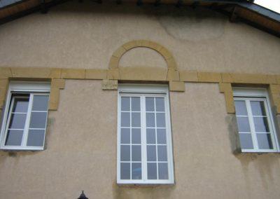 fenêtre PVC croisillons crémone traditionnelle 2