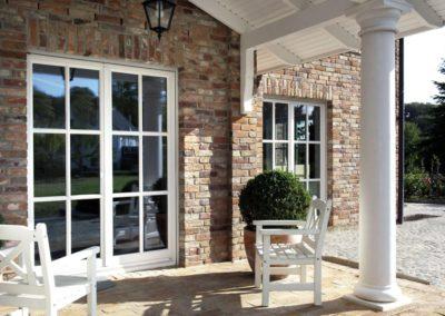 fenêtres PVC blanc croisillons