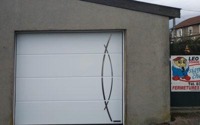 Porte de garage personnalisée