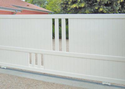 portail aluminium deco blanc 2