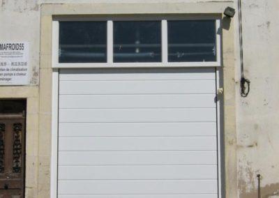porte de garage sectionnelle blanc 10