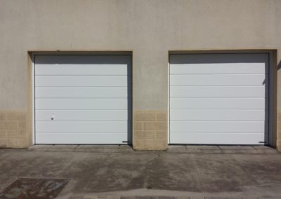 porte de garage sectionnelle blanc 11