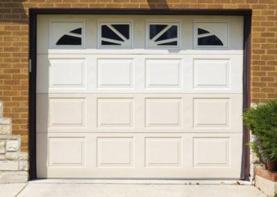 porte de garage sectionnelle blanc 14