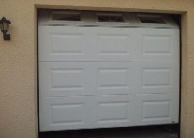 porte de garage sectionnelle blanc 15