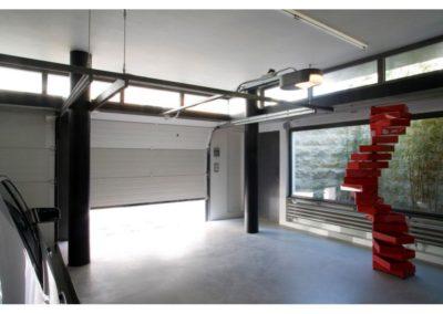 porte de garage sectionnelle blanc 16