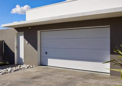 porte de garage sectionnelle blanc 17