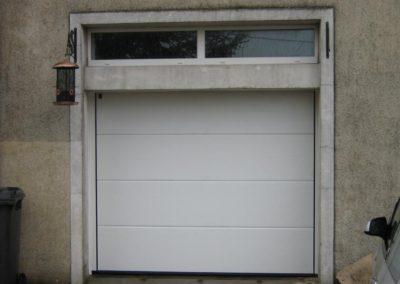 porte de garage sectionnelle blanc 18