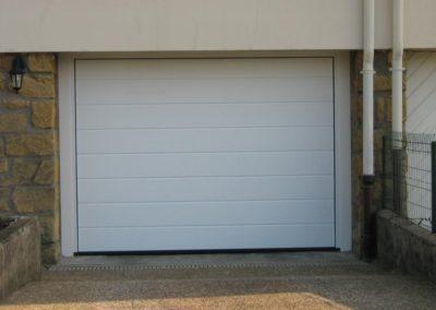 porte de garage sectionnelle blanc 3