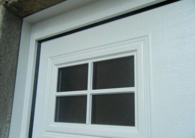 porte de garage sectionnelle blanc 5