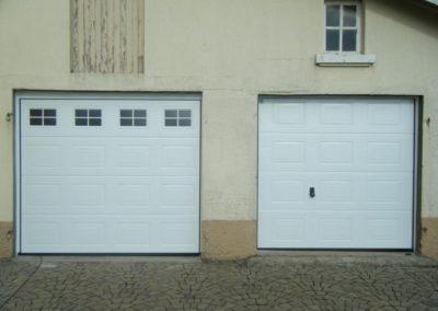 porte de garage sectionnelle blanc 6