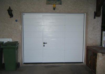 porte de garage sectionnelle blanc 8