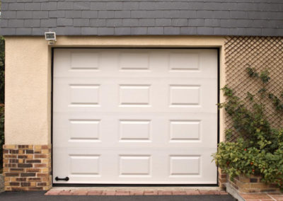 porte de garage sectionnelle blanc 9