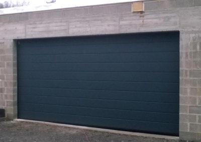 porte de garage sectionnelle gris 3