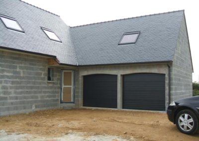 porte de garage sectionnelle gris 7
