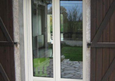 porte fenêtre PVC blanc 2