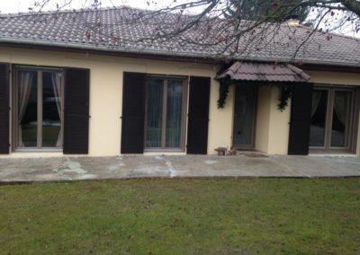 portes fenêtres et porte dentrée PVC décor