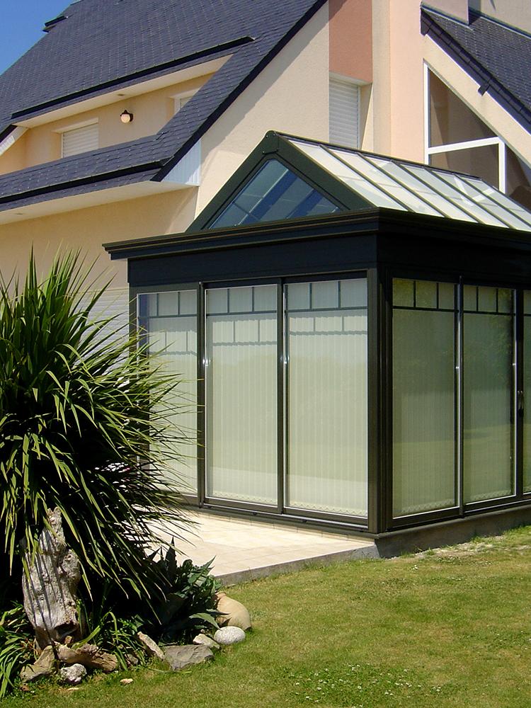 projet veranda avec store