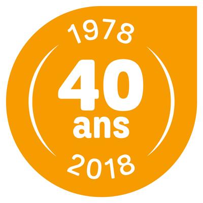 logo 40 ans